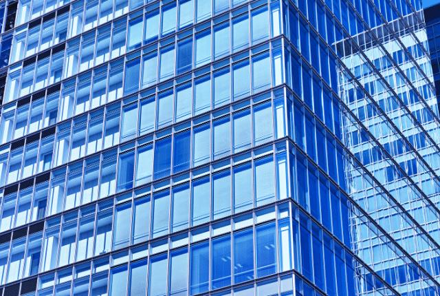 גורד שחקים מזכוכית, בניין משרדים גבוה