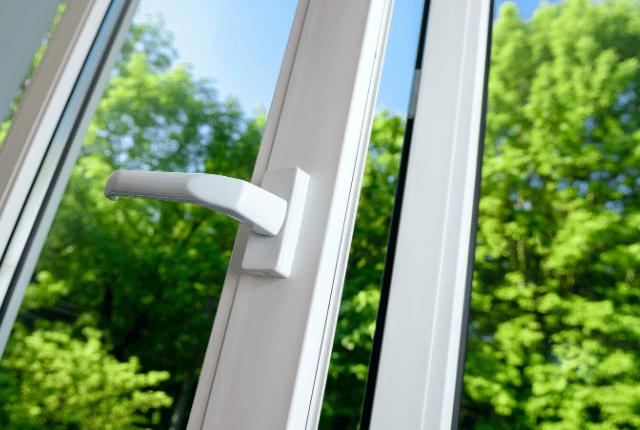 חלון ונוף ירוק
