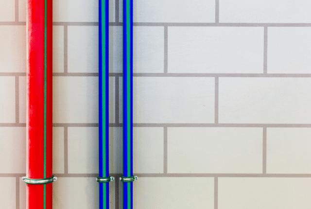 קיר חיצוני נקי